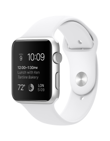 Apple Watch 38 sport white S1