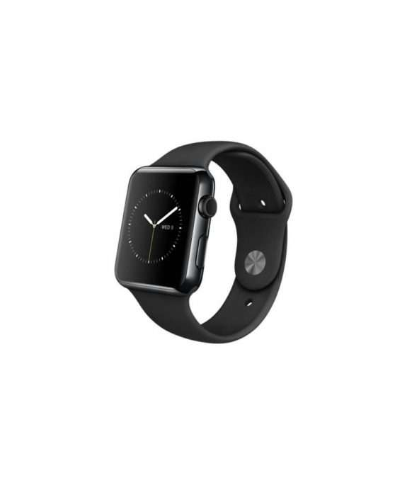 Apple Watch 42 sport band black stainless steel
