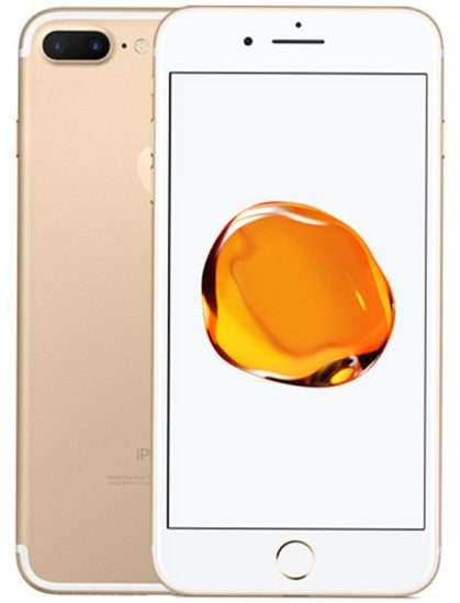 iPhone 7+ 256 gold