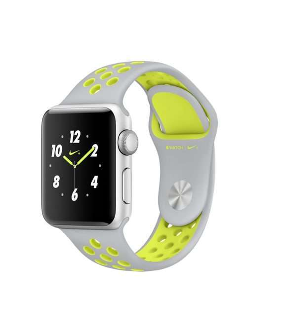 Apple Watch 38 Nike silver/volt S2