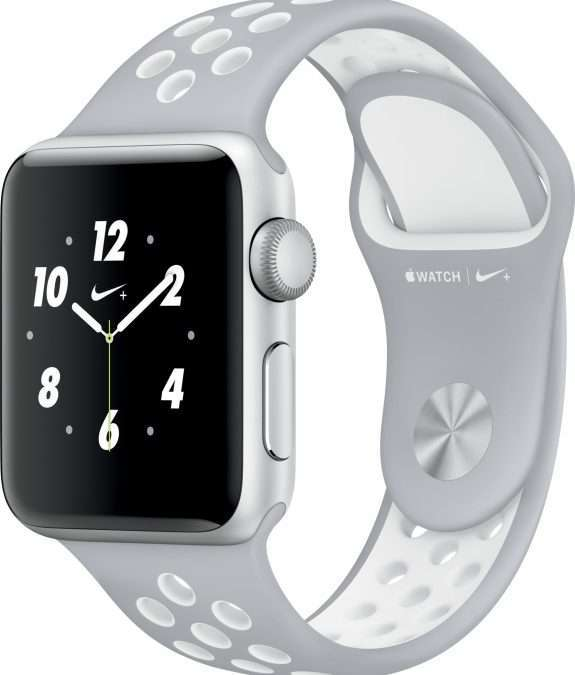 Apple Watch 38 Nike silver/white S2