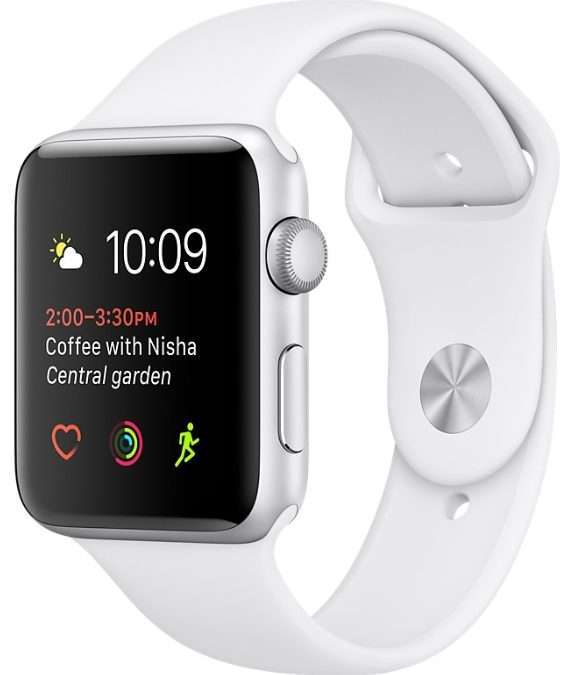 Apple Watch 38 sport white S2