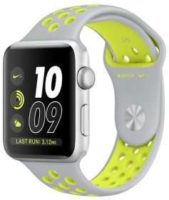 Apple Watch 42 Nike silver/volt S2