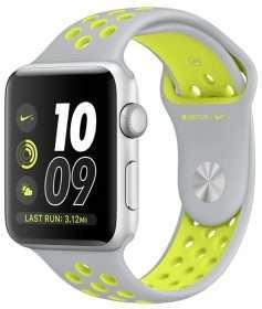Apple Watch 42 Nike silver/volt S2